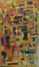 Untitled, 1954, oil on canvas, 56 x 31 1/2 in.