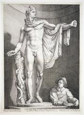 Hendrick Goltzius, The Apollo Belvedere