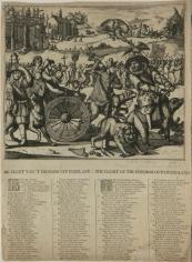 Romeyn De Hooghe, De Vlugt van't Pausdom uit Engelant, 1689
