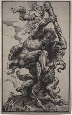 Christoffel Jegher, Hercules Fighting Fury and Discord, ca. 1633-34