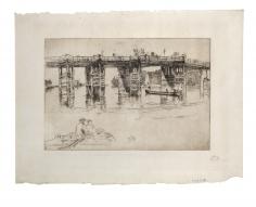 James Abbott McNeill Whistler, Old Putney Bridge