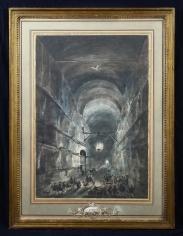 Louis-Jean Desprez, La Grotta di Posillipo