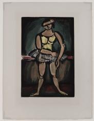 Georges Rouault (1871-1958)  Ballerina, ca. 1930