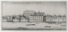 Wenceslaus Hollar, Whitehall from the River
