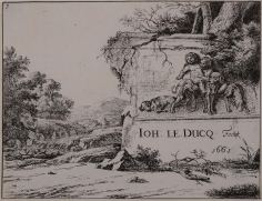 Jan Le Ducq, The Set of Dogs, 1661