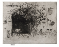 James Abbott McNeill Whistler (1834-1903), The Traghetto No. 2, ca. 1881