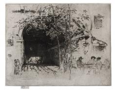 James Abbott McNeill Whistler (1834-1903), The Traghetto No. 2, ca. 1881