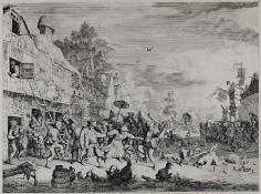 Cornelis Dusart, The Large Village Fair, 1685
