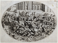 Enea Vico, The Battle of the Amazons