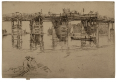 James Abbott McNeill Whistler, Old Putney Bridge