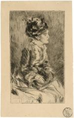 James Abbott McNeill Whistler, The Muff