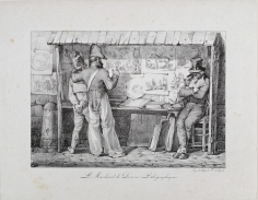 Nicholas Toussaint Charlet, Le Marchand de Dessins Lithographiques