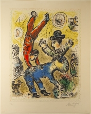 Marc Chagall, The Red Acrobat