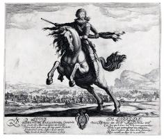 Jaques Callot, Louis de Lorraine, Prince of Phalsbourg