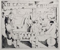 Jean-Emile Laboureur, Le Café du Commerce