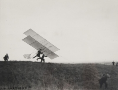 Glider taking off by J. H. Lartigue