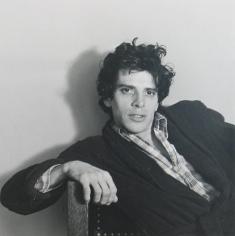 Sitting man by Robert Mapplethorpe