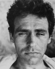 Portrait of man by Walker Evans