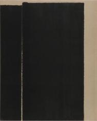 Yun Hyoung-keun. Burnt & Ultramarine, 1996. Oil on linen, 162.2 x 130.5 cm. Courtesy of Yun Seong-ryeol and PKM Gallery.