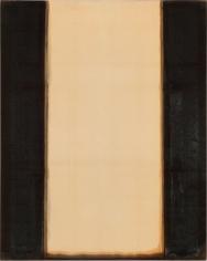 Yun Hyong-keun. Burnt Umber & Ultramarine, 1977-1978. Oil on cotton, 230.8 x 184.2 cm. Courtesy of Yun Seong-ryeol and PKM Gallery.