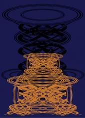 Sangnam Lee. Arcus+Spheroid XS 002, 2007.Ott+Acrylic on Panel, 36.5 x 26.5 cm.Courtesy of the artist & PKM Gallery.