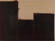 Yun Hyong-keun. Burnt Umber & Ultramarine, 1991-1993. Oil on linen, 194 x 259.5 cm. Courtesy of Yun Seong-ryeol and PKM Gallery.