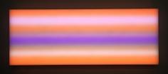 LEO VILLAREAL Sky  2009, light emitting diodes, Mac mini, circuitry, 36 x 96 inches.