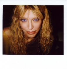 JEREMY KOST Courtney  Polaroid, 4 x 4 inches.