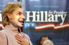 JOE OVELMAN If I Were President (Hillary Clinton 1) 2008, photograph, 4 x 6 inches