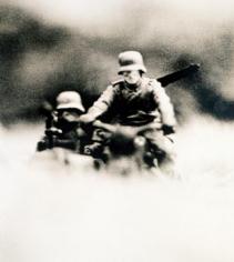 DAVID LEVENTHAL Hitler Moves East 1977, photograph / Kodalith film.