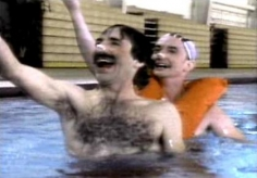 HARRY SHEARER Men's Synchronized Swimming 1984, video, run time: 5:02.