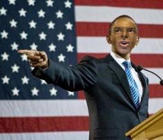 JOE OVELMAN If I Were President (Barack Obama 1) 2008, photograph, 4 x 6 inches