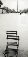 Robert Frank - Chairs, Paris, 1949 | Bruce Silverstein Gallery