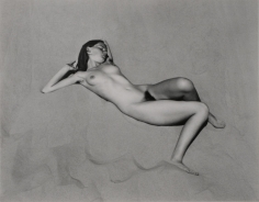Edward Weston- Nude, 1936 Gelatin silver print mounted to board, printed c. 1940 | Bruce Silverstein Gallery