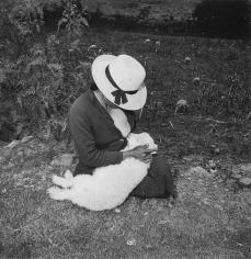 Rosalind Fox Solomon - Catalin's Valentine's Lamb, 1981 Gelatin silver print   Bruce Silverstein Gallery