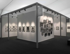Frieze Masters 2018 : Keith A. Smith, F. Holland Day, Aaron Siskind, Frantisek Drtikol, Jaromir Funke   installation image   Bruce Silverstein Gallery