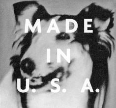 Mishka Henner -  Hundekopf (Lassie), 1965 + Made in the U.S.A., 1976, fromRichtered, 2012  | PHOTOFAIRS San Francisco 2018 | Bruce Silverstein Gallery