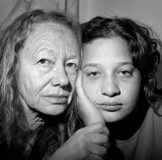 Mother and Daughter (Yaffa and Nurit), Jerusalem, 2010