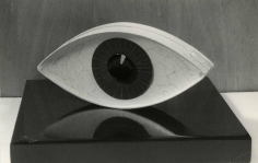 Man Ray (1890-1976) Le Témoin (The Witness), 1971 Gelatin silver print, printed c. 1971 6 x 9 1/4 in. (15.2 x 23.5 cm)