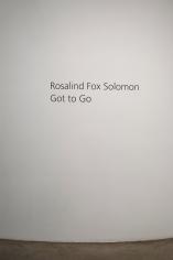 Rosalind Fox Solomon: Got to Go