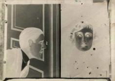 René Magritte - L'Espion,1928 ; Bruce Silverstein Gallery