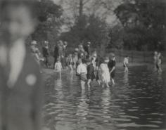 E. O. Hoppé - Children Bathing in the Serpentine, London, c. 1910 Gelatin silver print, printed c. 1910   Bruce Silverstein Gallery