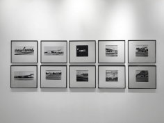 Gasoline Stations, 1962 10 Gelatin silver prints, printed c. 1989 19 7/16 x 22 15/16 inches each