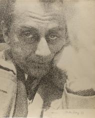 Man Ray -  Self-Portrait, 1933  | Bruce Silverstein Gallery