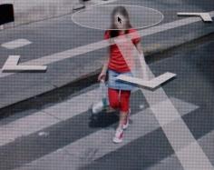 Michael Wolf - Paris Street View #48,2010 Digital C-print 40 x 50 inches ; Bruce Silverstein Gallery