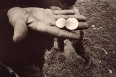 Mark Cohen - Untitled, (Coins in Hand), 1968  | Bruce Silverstein Gallery