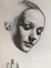 Erwin Blumenfeld - Niki de St. Phalle, Solarized, 1957 Gelatin silver print, printed c. 1957 | Bruce Silverstein Gallery