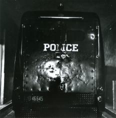 Dorothea Lange - Black Maria, Oakland, 1955-57 Gelatin silver print, printed c. 1955-57 | Bruce Silverstein Gallery
