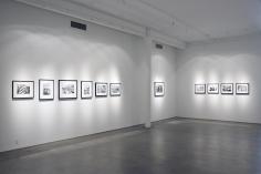 Leonard Freed - Black in White America | installation image 2009 | Bruce Silverstein Gallery