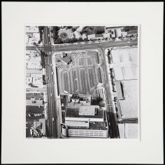 Untitled from Parking Lots, 1967-69, Gelatin silver print mounted to board